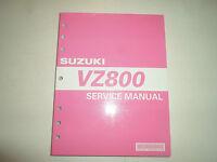 2005 SUZUKI VZ800 VZ 800 Repair Shop Service Manual 99500-38050-03E OEM FACTORY
