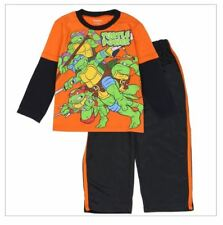 Nickelodeon Ninja Turtles Boys Toddler Active Pants & Long Sleeve Shirt TMNT