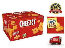 36x Cheez-It Original Cheese Crackers School Lunch Food Baked Snack Single Serve