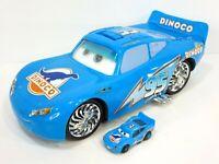 "Disney Pixar Cars Dinoco Lights & Sounds Bling Lighting McQueen 14"" Toy Vehicle"