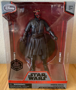 Disney Store Authentic GENERAL GRIEVOUS FIGURINE Cake TOPPER STAR WARS Sith NEW