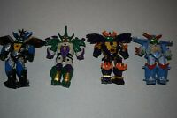 Vintage 1994 TMNT Cyber Samurai Leo,Don,Mike,Ralph all 4 lot,incomplete