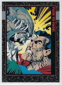 1992 DOOMSDAY The Death of Superman cards base set card #70.
