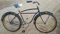 Vintage Skip Tooth Schwinn Admiral Full Size Adult Cruiser Bicycle New Departure