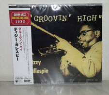CD DIZZY GILLESPIE - GROOVIN' HIGH  - JAPAN - NUOVO NEW - NOT SEALED