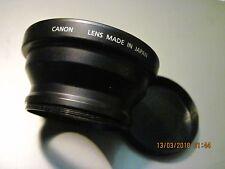Lente Conversor de Ancho Canon WC-DC58