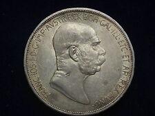 """5 Kronen 1909  Franz Josef """" Erhaltung """"   W/15/547/A"""
