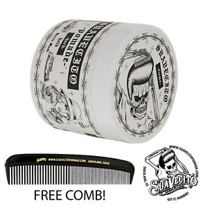 Suavecito Spring Barrio Musk Firme Strong Hold Pomade 4 oz. Can