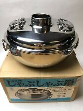 Thai Cookware Hot Pot Tom Yum Soup Shabu Bowl Stainless Steel Picnic Party 23 cm