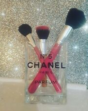 Chanel Make up Brush holder  ( Heavy Glass )