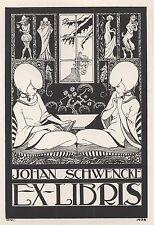 Ex Libris Otto Verhagen : Johan Schwencke