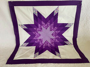 Lone Star Patchwork Quilt Top  #LS-001 Made in U S A