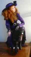 """Jan McLean Design Porcelain Doll Pearl 24"""" Exclusively Collectable COA # 707"""
