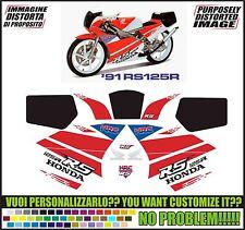 kit adesivi stickers compatibili rs 125 r 1991
