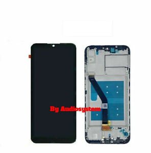 DISPLAY +TOUCH SCREEN +FRAME HUAWEI Y6S 2020 JAT-L41 VETRO NERO SCHERMO LCD