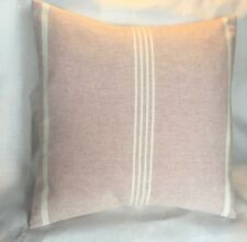 SUSIE WATSON Cushion Cover  OXFORD STRIPE PINK Laura Ashley Austen linen