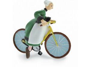 Figurine - Bécassine - Bécassine à vélo - Plastoy