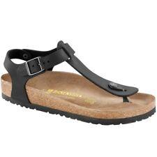 Birkenstock Kairo Regular Fit - Nero Pelle 0047791 Sandali Donna