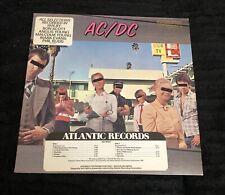 AC/DC Dirty Deeds Done Dirt Cheap vinyl LP 1976 original PROMO NEAR MINT Hype!!
