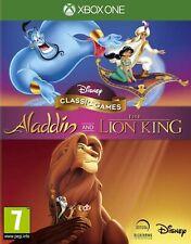 Disney Juegos Clásicos Aladdin Y El Rey León XBOX 1 Video Juego UK release One