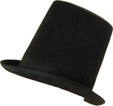 Deluxe Adulto Nero Cappello Vittoriano Maestro della CAMPANELLA 20s Showman Costume NUOVO