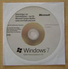 Original  Windows 7 OEM Preinstallation Kit (OPK) * Deutsch * Hologramm DVD
