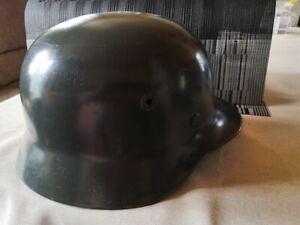Sehr gut erhaltener Stahlhelm Feuerschutzpolizei? 41 / T-Zug Gr. 58 Militär