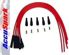 AccuSpark Red 8mm High Performance Silicone HT Leads for 4 Cylinder Classic Cars