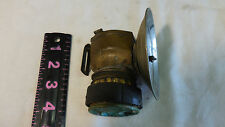 Super Vintage Miners Justrite Carbide Lamp