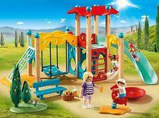 PLAYMOBIL Family Fun Parque Infantil con Figuras y muchos Accesorios Realistas