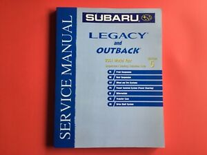 2001 Subaru Legacy and Outback Factory Service Manual Vol 5 OEM