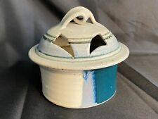 Clarksville Pottery Handmade Dish With Lid