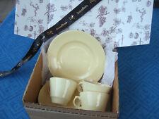 More details for woods ware vintage tea for three gift set in pastel jasmine