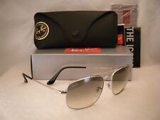 Ray Ban COLONEL (RB3560-003/32 58) Silver with Clear Gradient Gray Lens