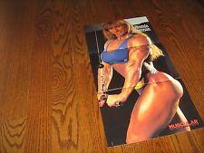 female bodybuilder Rhonda Jorgenson bodybuilding muscle GIANT color poster