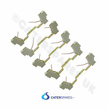 CATERING GANTRY HEAT LAMP HOLDER R7 STYLE PUSH FIT SPARE PARTS 118mm HALOGEN X 5