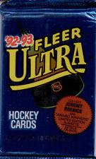 1992-93 Fleer-Ultra-NHL Trading Cards-24-Sealed Packs-Series 1