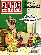 Fluide Glacial N°208 - Eds. Audie - Octobre 1993