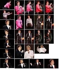 100 Barry Manilow colour concert photographs - London 1988