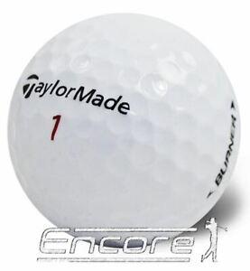 40 TaylorMade Burner Golf Balls Mix Pearl / A Grade