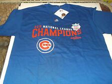 Chicago Cubs MLB Team apparel 2016 National League Champion shirt by Majestic M