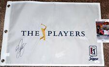 Rickie FOWLER Signed PLAYERS CHAMPIONSHIP Pin Flag - 2015 Champion - JSA COA