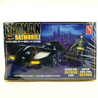 AMT Batman Batmobile Plastic Model Kit in 1/25 Scale with Resin Batman Figure