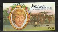 Jamaica SC # 541a-544a Royal Baby  Booklet  . MNH