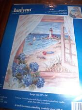 Janlynn Ocean A VIEW FROM THE WINDOW Counted Cross Stitch Kit 11