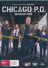 Chicago P. D. Season Five Fifth 5 DVD NEW Region 4