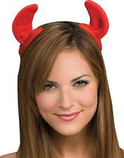 Morris Costumes Devil Horns Accessories & Makeup Halloween On Clips. RU7628