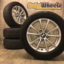 16 Genuine BMW 3 series alloy wheels & tyres sport f30 e46 Goodyear SE