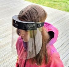 Pack of 2 x Medical Grade Full Covering PPE Adjustable Ultra Clear Face Visor