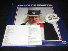 AMERICA THE BEAUTIFUL RCA 2 RECORD LP ANN MARGRET DELLA COMO AL HIRT NERO OOP